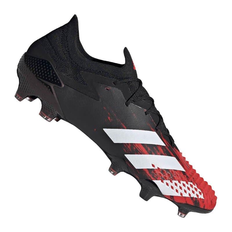adidas Predator 20.1 L FG Schwarz Rot - schwarz