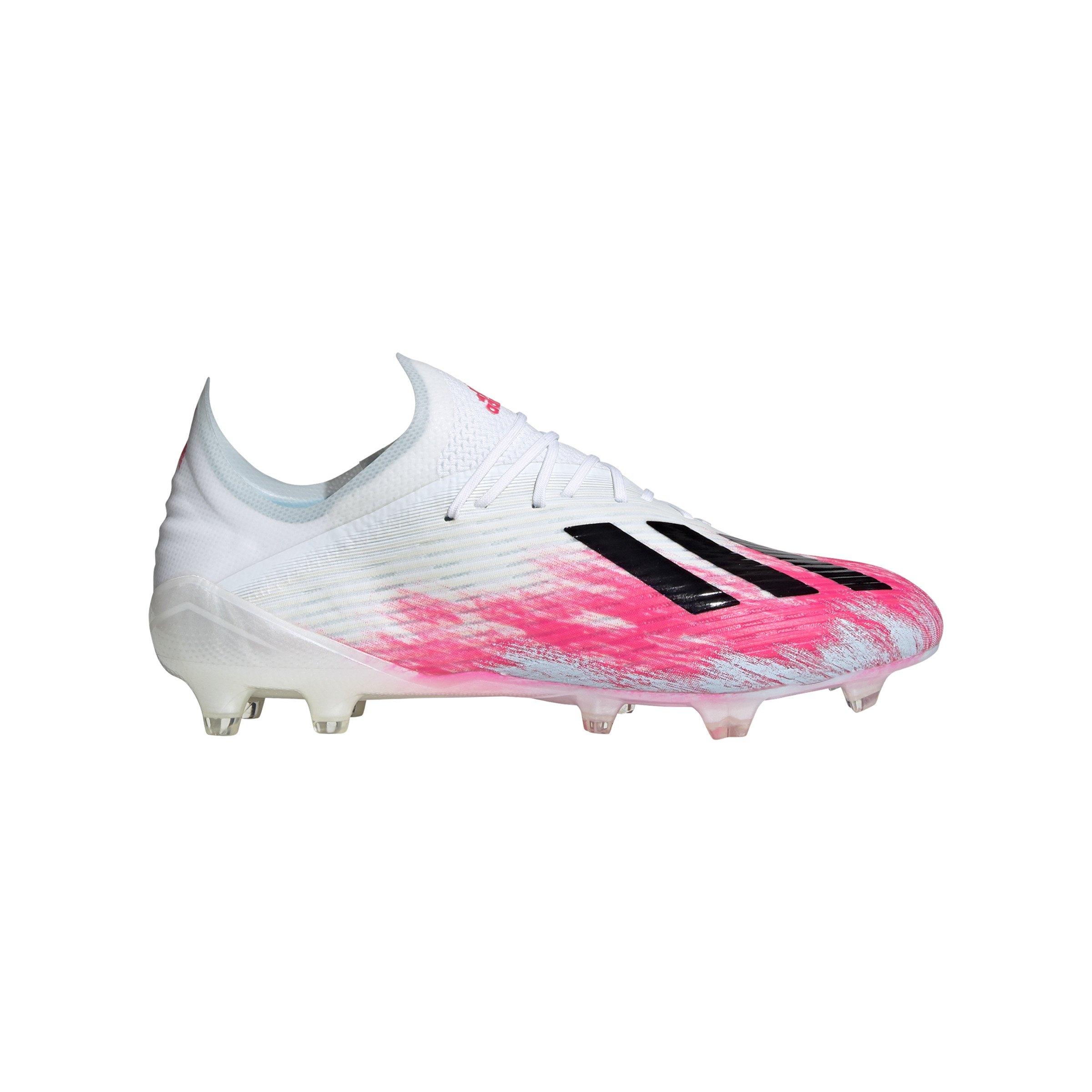 adidas X 19.1 FG Weiss Pink - weiss