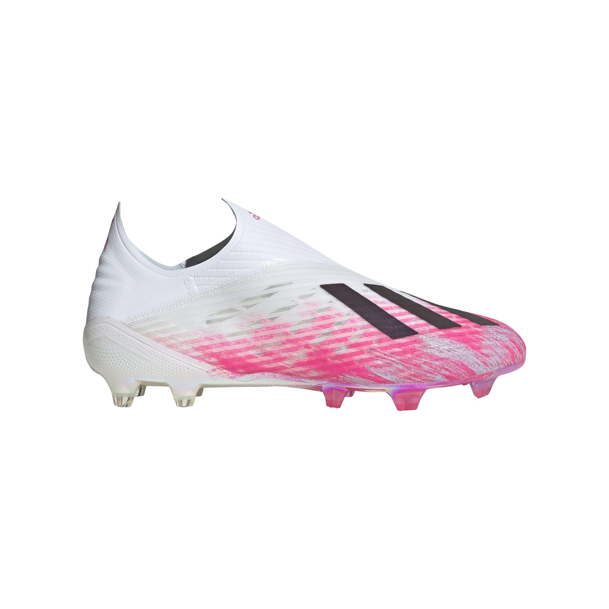 adidas X Uniforia 19+ FG Weiss Pink | - weiss