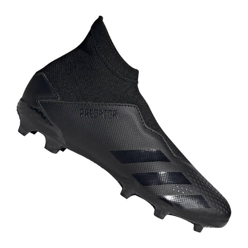 adidas Predator 20.3 LL FG J Kids Schwarz Grau - schwarz