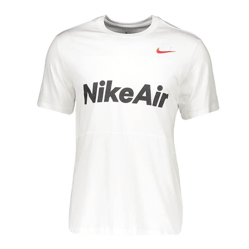 nike air tee t-shirt weiss f101 weiss