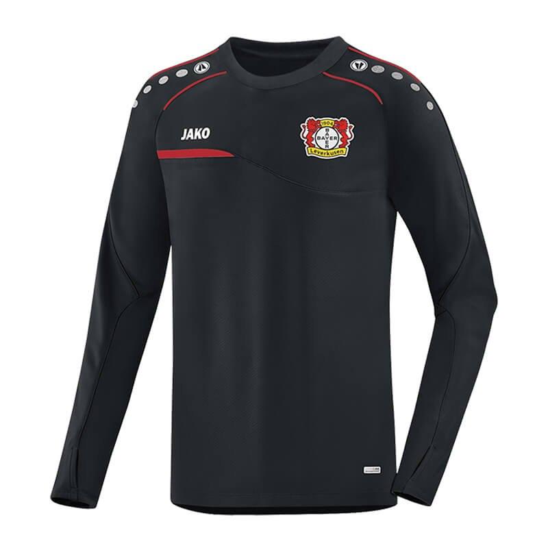 jako bayer 04 leverkusen sweatshirt prestige schwarz