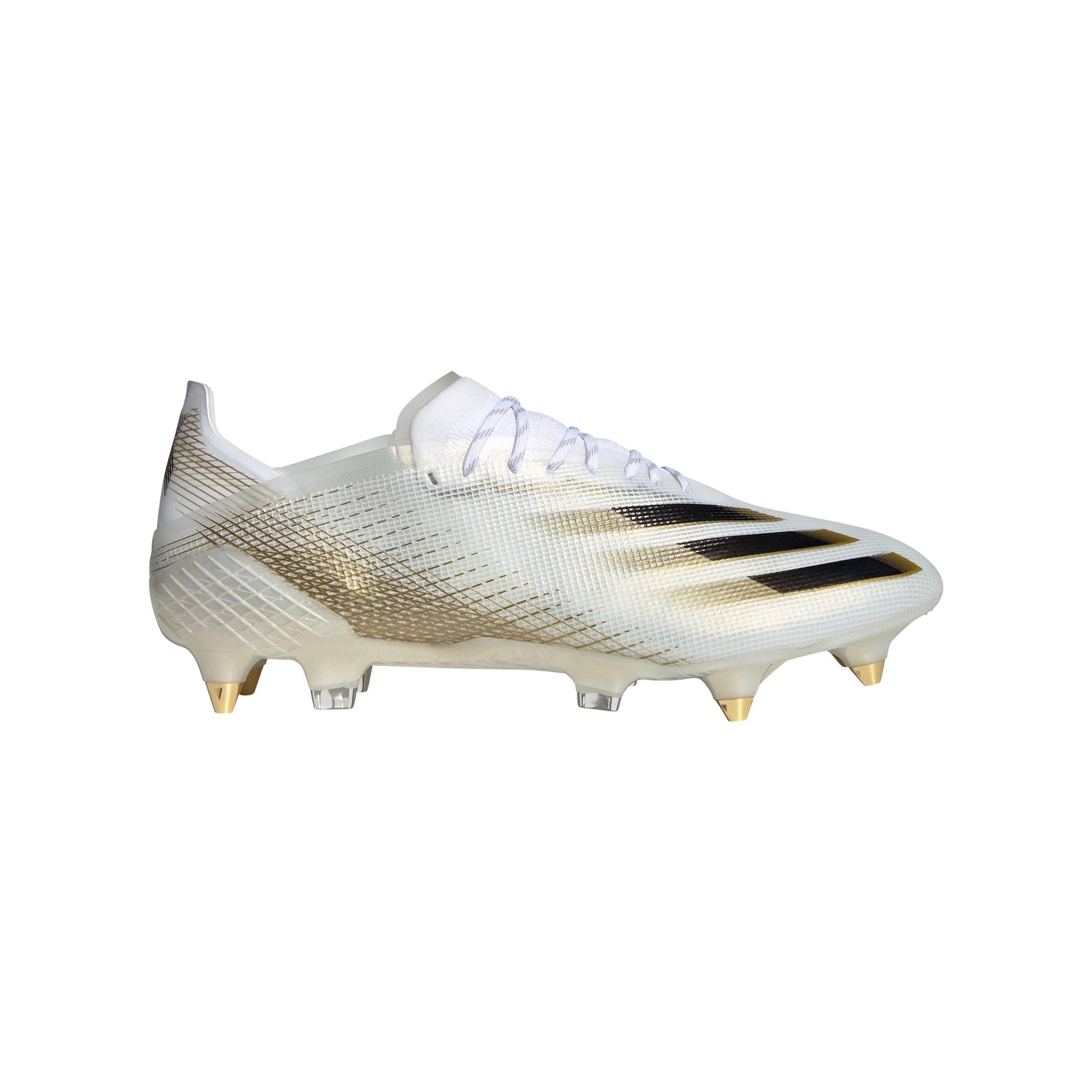 adidas X GHOSTED.1 SG Inflight Weiss Schwarz Gold - weiss