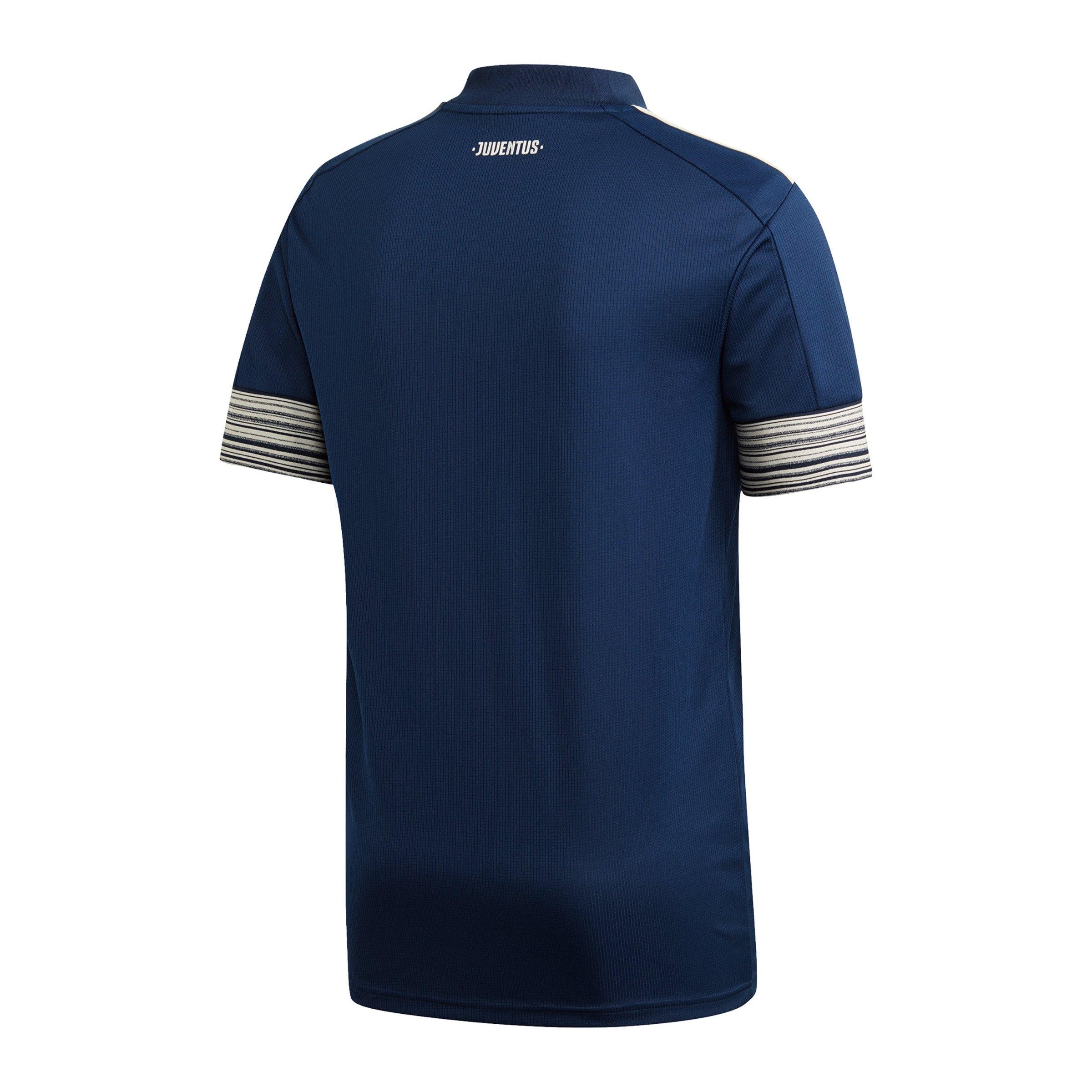 adidas Juventus Turin Trikot Away 2020/2021 Blau blau