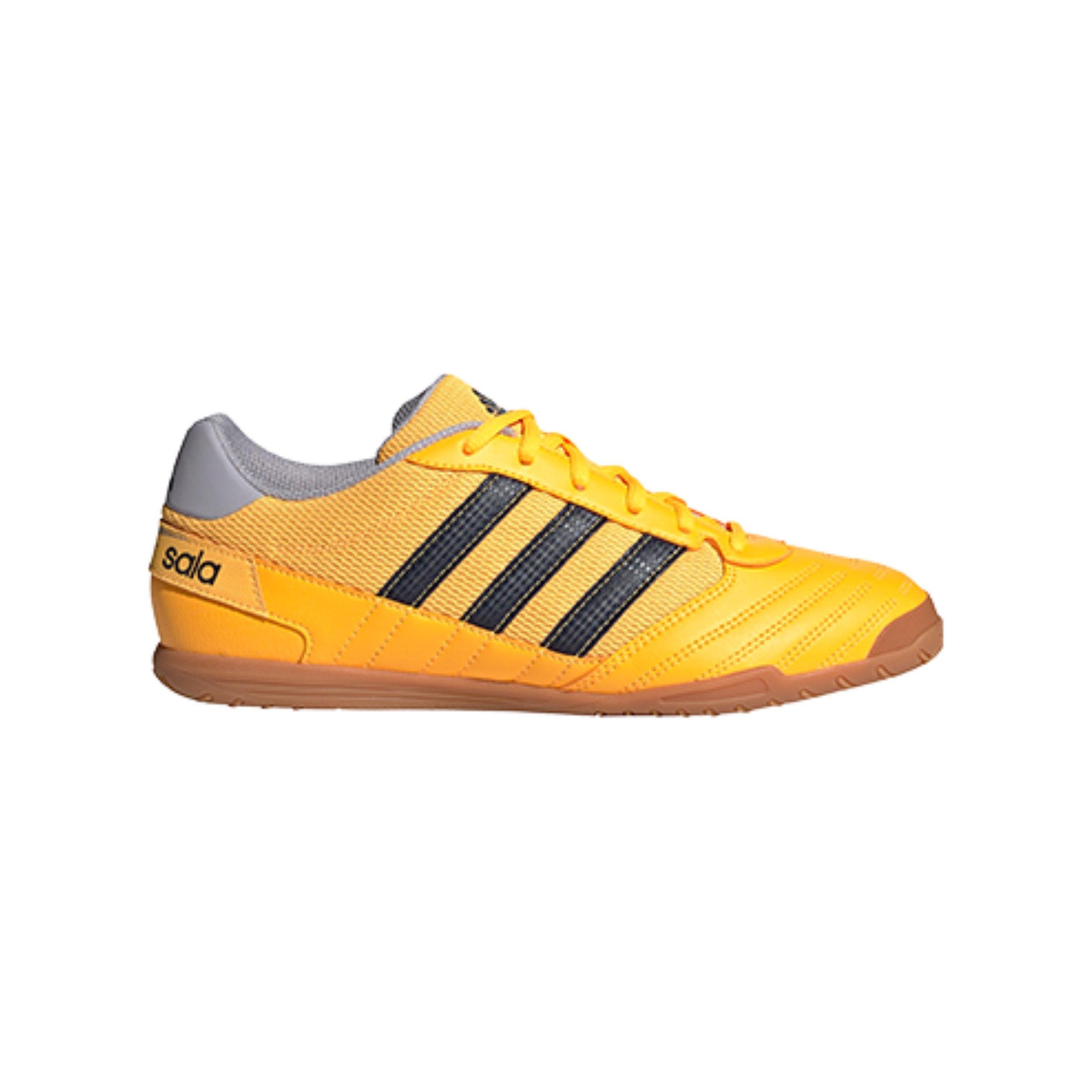 adidas Super Sala IN Halle Gelb Blau Grau - gelb