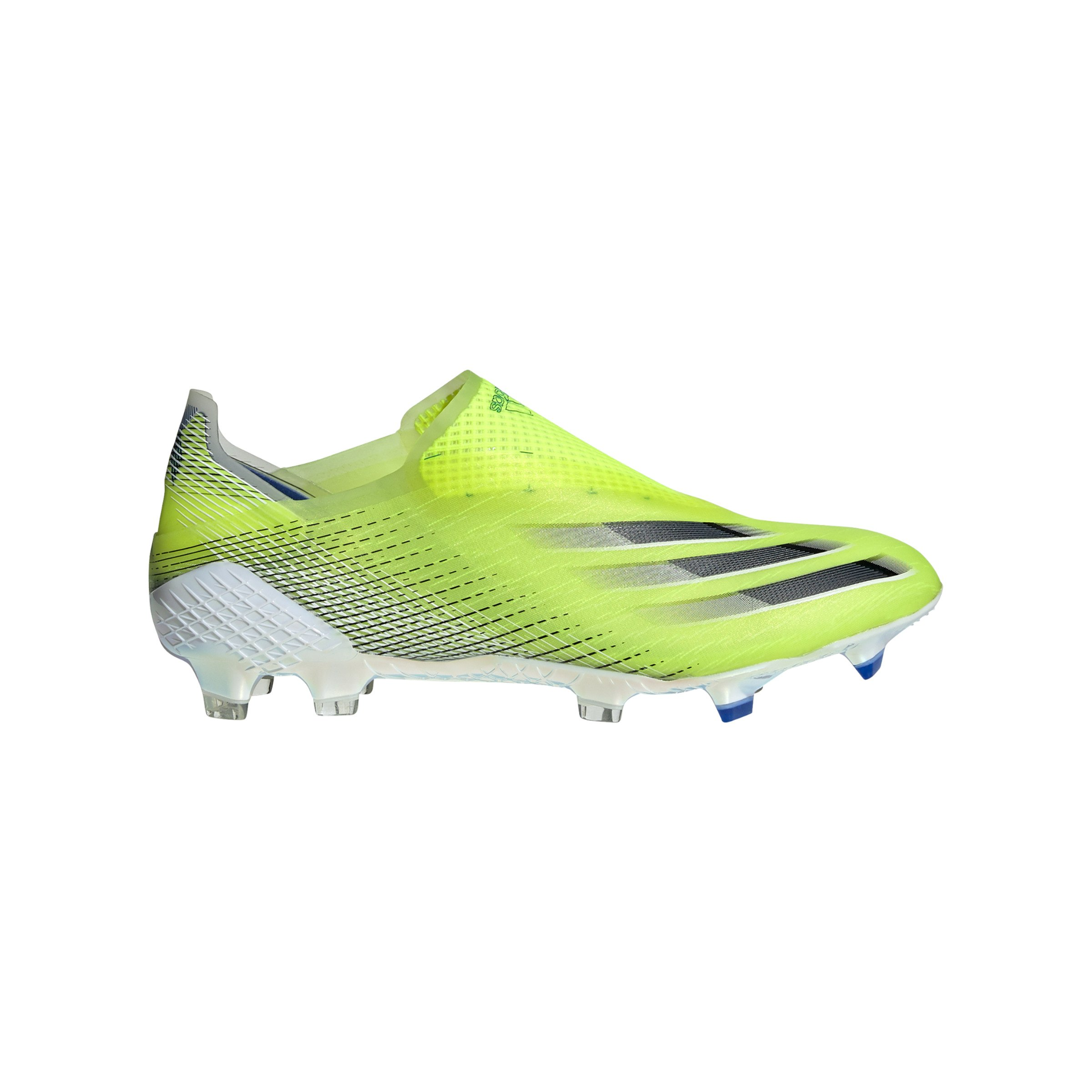 adidas X GHOSTED FG Gelb Schwarz - gelb