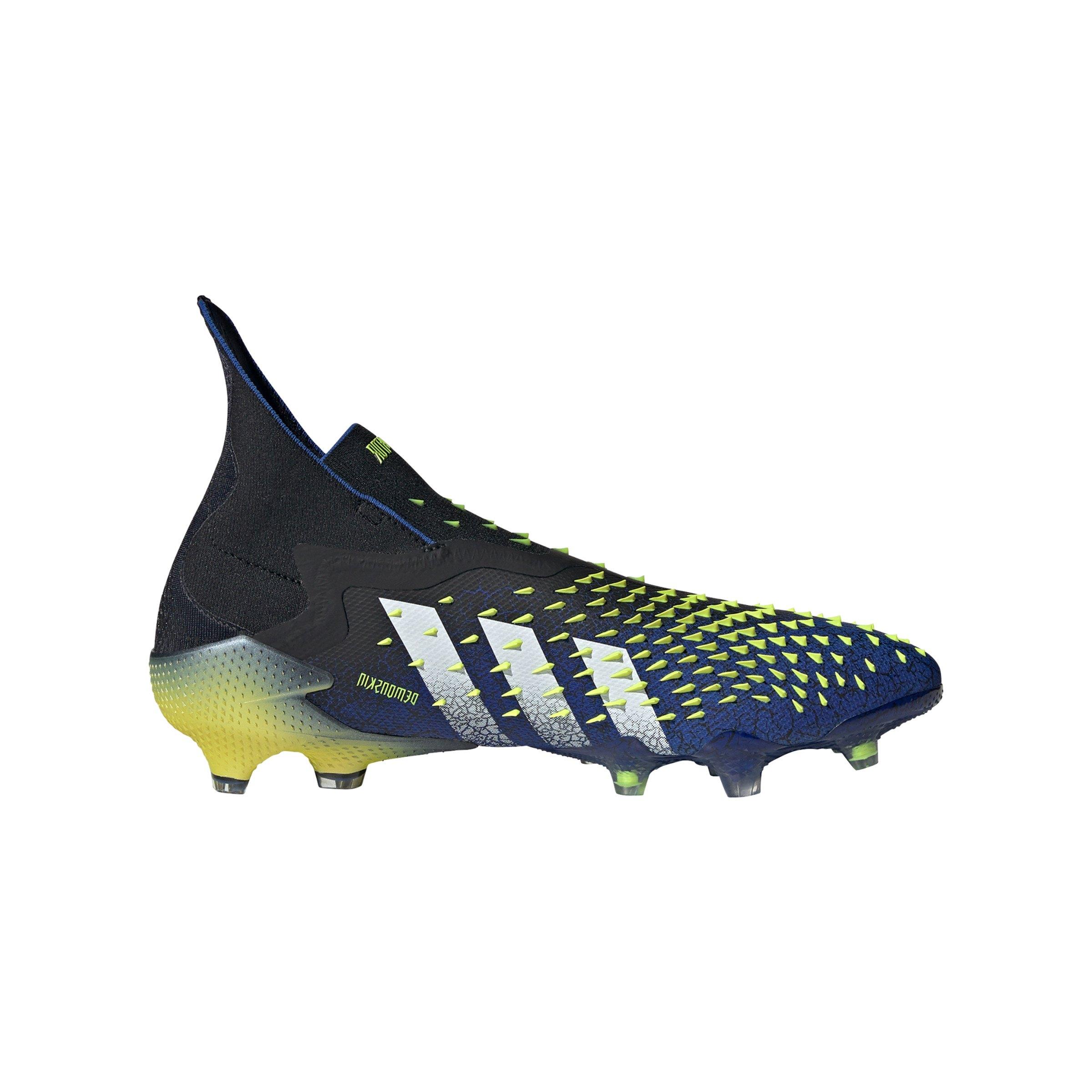 adidas Predator FREAK FG Schwarz Weiss - schwarz