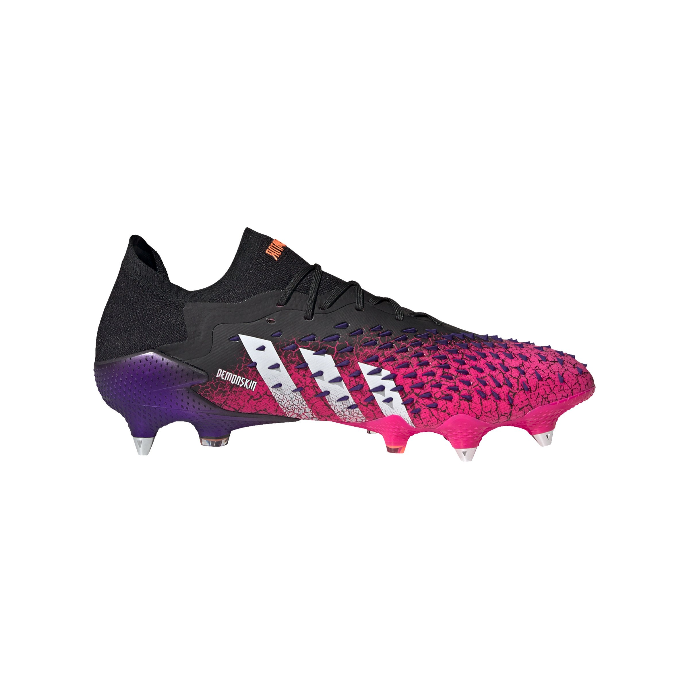 adidas Predator FREAK.1 L SG Schwarz Weiss Pink - schwarz