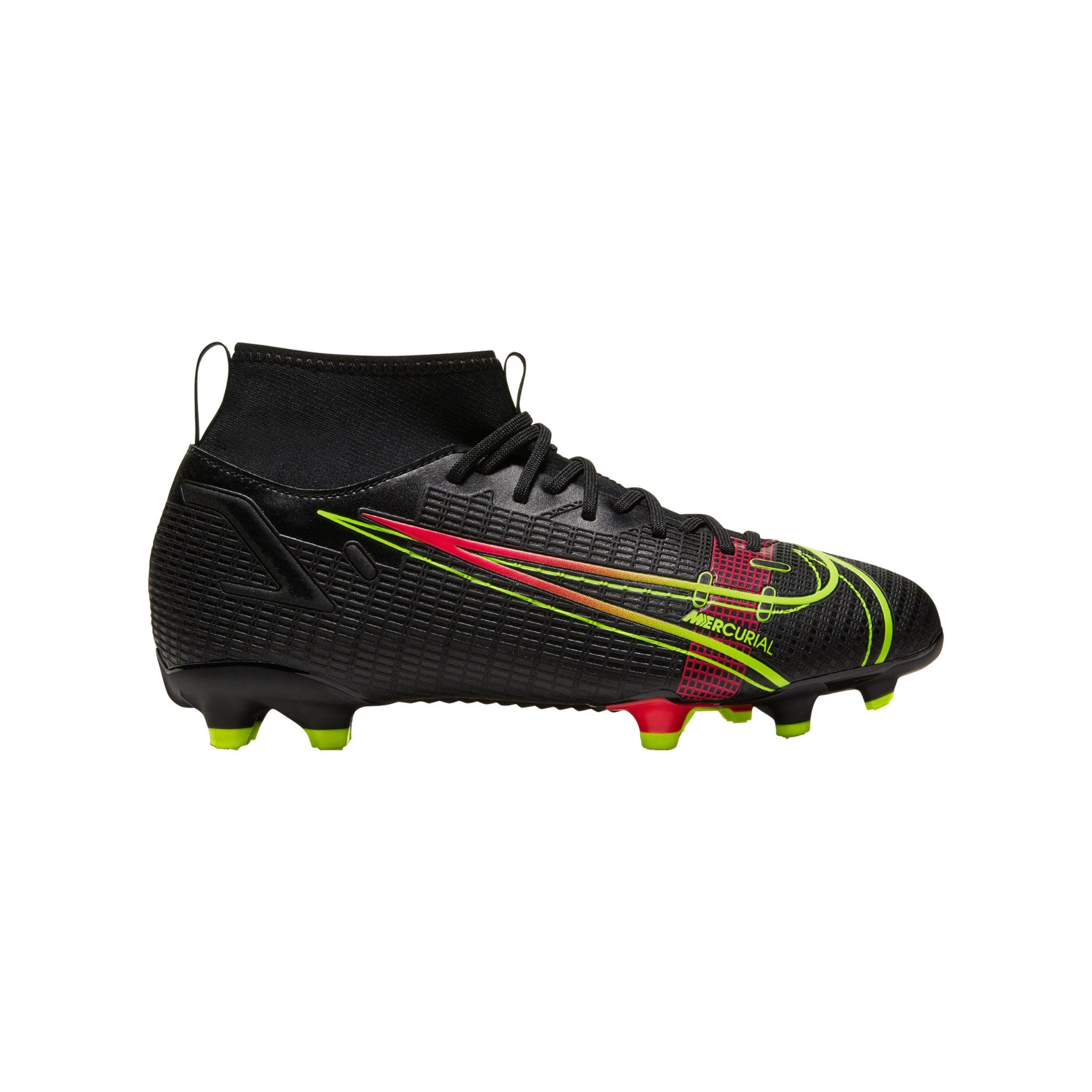 Nike Jr Mercurial Superfly VIII Academy FG/MG Kids - schwarz