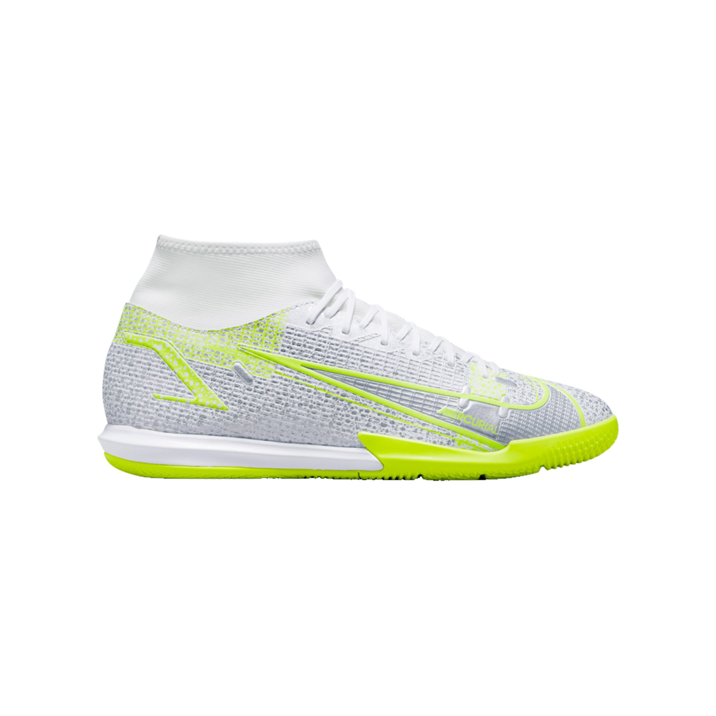 Nike Mercurial Superfly VIII Academy IC Weiss F107 - weiss