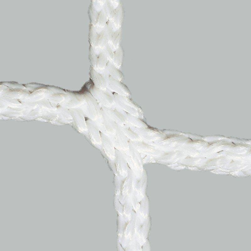 Tornetze 7,5 x 2,5 m, 1,5 m untere Tiefe | weiß - weiß