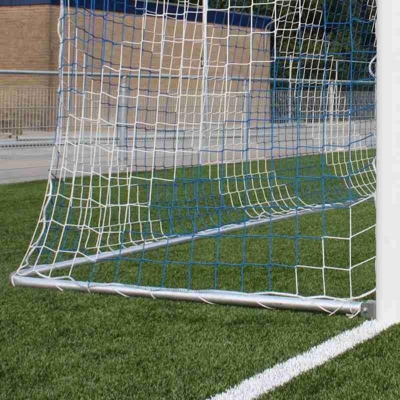 Bodenrahmen für Fußballtore 5x2 m in Bodenhülsen -