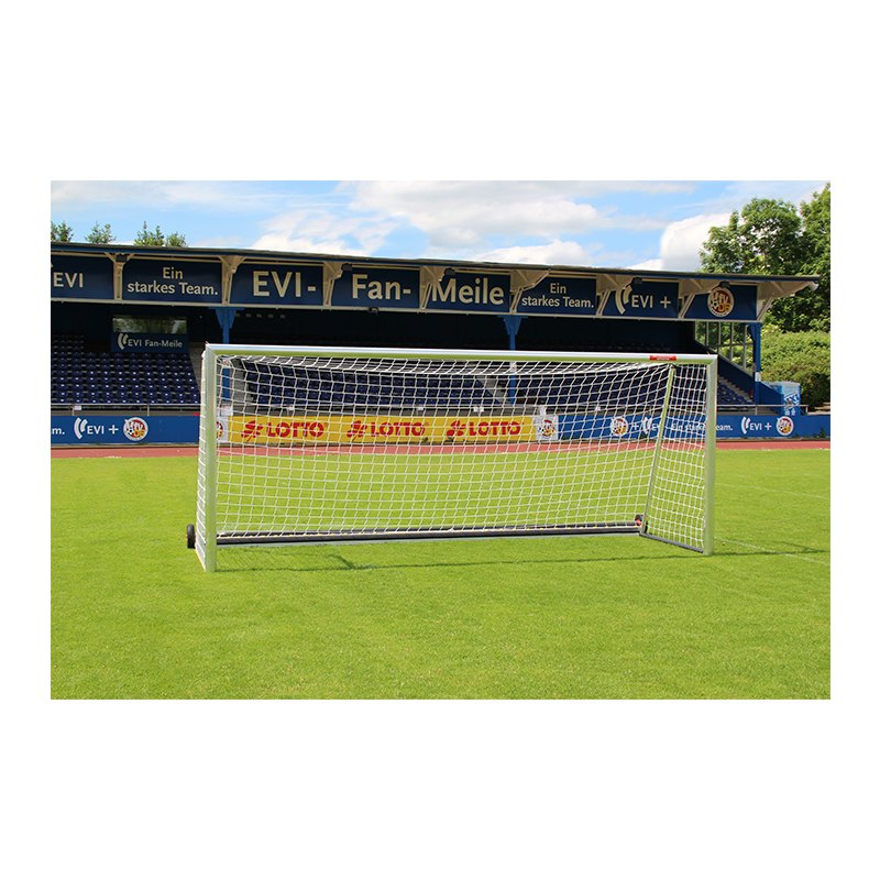 Safety-Jugendtor 5x2m, 1,5m tief m. PlayersProtect | - weiss