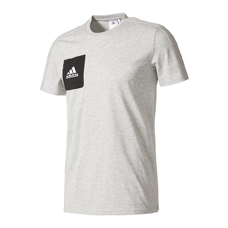 adidas tee tiro 17 grau schwarz t shirt trainingsshirt sport training workout. Black Bedroom Furniture Sets. Home Design Ideas