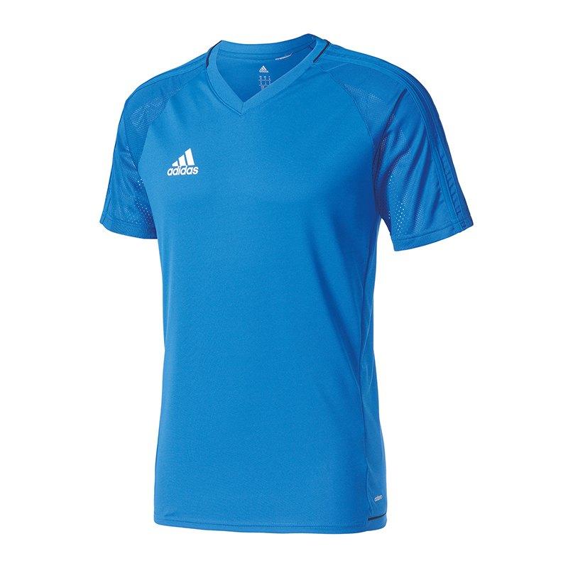 adidas training jersey tiro 17 blau navy t shirt men. Black Bedroom Furniture Sets. Home Design Ideas