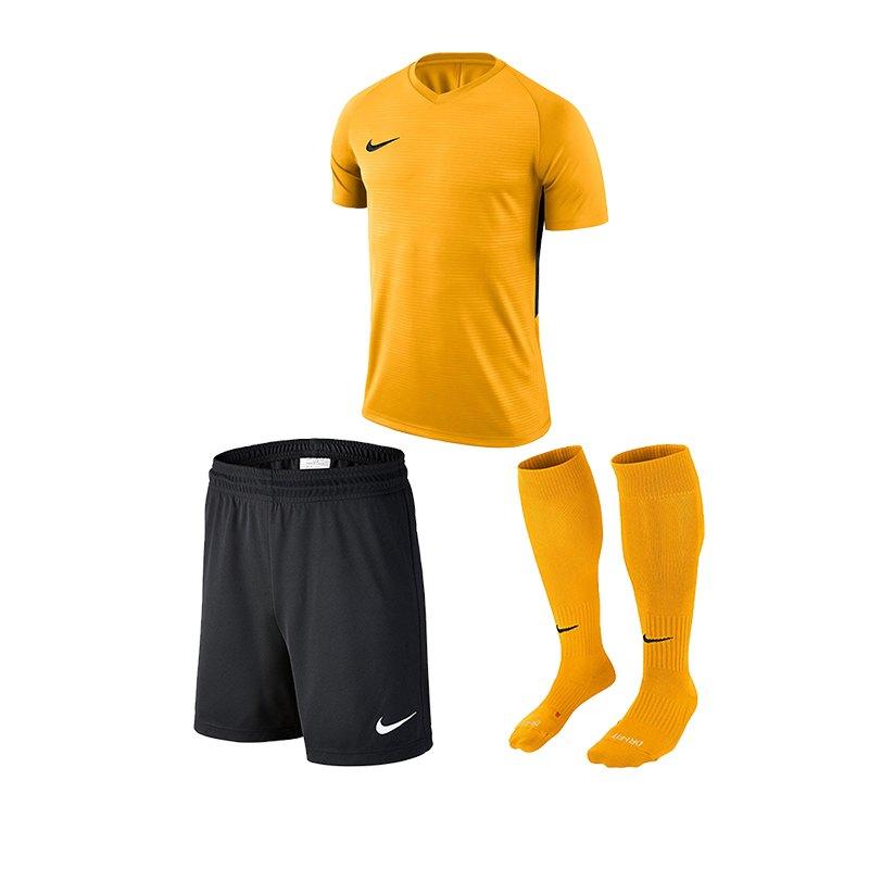 Nike Tiempo Premier Trikotset Kids Gelb F739 - gelb