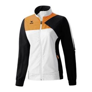 erima-premium-one-praesentationsjacke-anzugjacke-jacke-women-frauen-wmns-weiss-schwarz-orange-101445.jpg