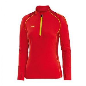 jako-power-ziptop-running-damen-rot-gelb-f01-laufbekleidung-langarmshirt-reissverschluss-frauen-women-8899.jpg