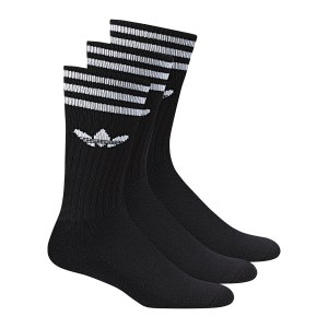 adidas-solid-crew-socken-3er-pack-socks-struempfe-sport-training-schwarz-weiss-s21490.png