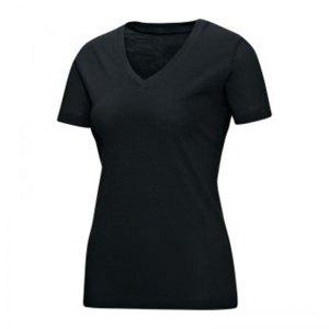 jako-v-neck-t-shirt-damen-schwarz-f08-v-ausschnitt-kurzarmtop-sportbekleidung-textilien-frauen-women-6113.jpg