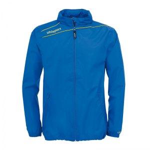 uhlsport-stream-3-0-regenjacke-blau-gelb-f04-wind-regen-wasser-schutz-teamsport-mannschaft-1003243.png