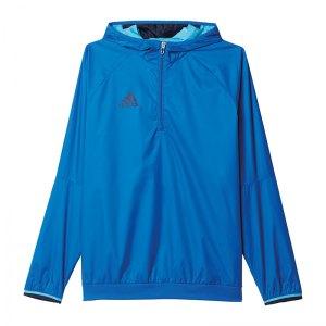 adidas-condivo-16-windbreaker-1-4-zip-blau-sportbekleidung-teamsport-jacke-jacket-herren-ab3137.jpg