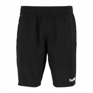 hummel-authentic-trainingshose-kids-schwarz-f2001-fussball-training-short-kinder-sportswear-111503.png