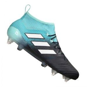 new arrival cd734 1bedf adidas-ace-17-1-primeknit-sg-blau-weiss-