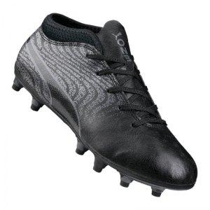 puma-one-18-4-fg-kids-grau-schwarz-f02-cleets-shoe-nocken-fussballschuh-firm-ground-rasen-104557.jpg