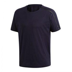adidas-z-n-e-t-shirt-blau-underwear-funktionswaesche-kurzarm-dm7591.png