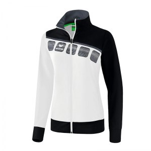 erima-5-c-praesentationsjacke-damen-weiss-schwarz-fussball-teamsport-textil-jacken-1011912.png