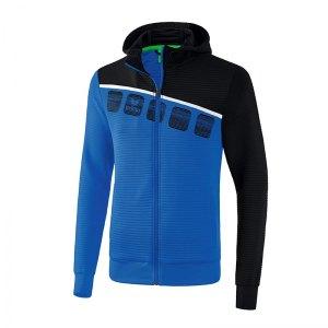 erima-5-c-trainingsjacke-mit-kapuze-blau-schwarz-fussball-teamsport-textil-jacken-1031901.jpg