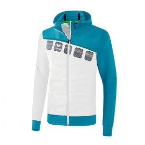 erima-5-c-trainingsjacke-mit-kapuze-weiss-blau-fussball-teamsport-textil-jacken-1031909.png
