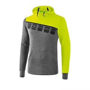 erima-5-c-kapuzensweat-grau-gruen-fussball-teamsport-textil-sweatshirts-1071908.jpg