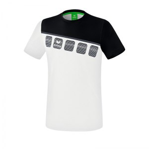 erima-5-c-t-shirt-weiss-schwarz-fussball-teamsport-textil-t-shirts-1081903.png