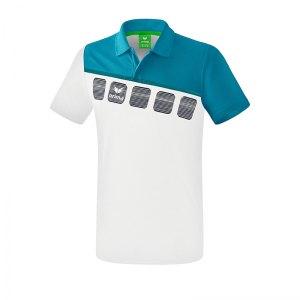 erima-5-c-poloshirt-weiss-blau-fussball-teamsport-textil-poloshirts-1111909.png