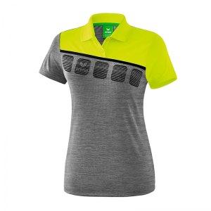 10124152-erima-5-c-poloshirt-damen-grau-gruen-1111918-fussball-teamsport-textil-poloshirts.png