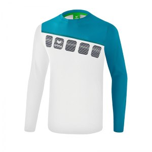 erima-5-c-longsleeve-weiss-blau-fussball-teamsport-textil-sweatshirts-1331909.png