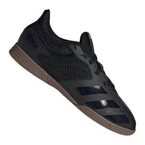 adidas-predator-20-4-in-sa-halle-kids-schwarz-grau-fussball-schuhe-kinder-halle-fv3153.jpg