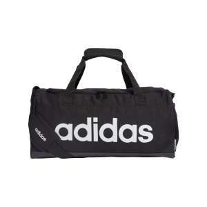 adidas-linear-logo-duffelbag-tasche-gr-s-schwarz-fl3693-lifestyle_front.png