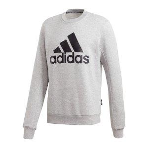 adidas-badge-of-sport-fleece-sweatshirt-grau-gc7337-fussballtextilien_front.png