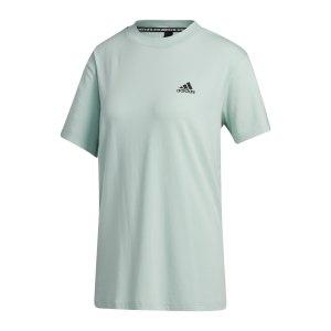 adidas-must-haves-3-stripes-t-shirt-damen-gruen-gh3801-fussballtextilien_front.png