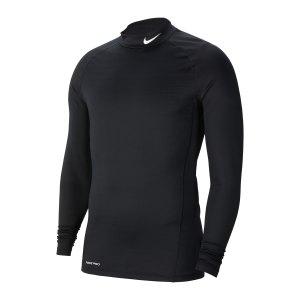 nike-pro-warm-top-mock-schwarz-f010-cu4970-underwear_front.png