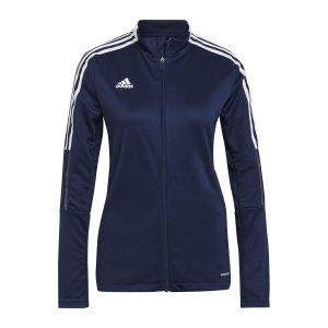 adidas-tiro-21-trainingsjacke-damen-dunkelblau-gk9663-teamsport_front.png