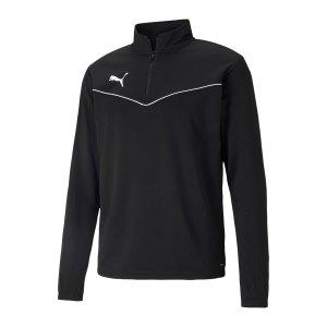puma-teamrise-halfzip-sweatshirt-schwarz-f03-657394-teamsport_front.png