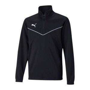 puma-teamrise-halfzip-sweatshirt-kids-schwarz-f03-657395-teamsport_front.png