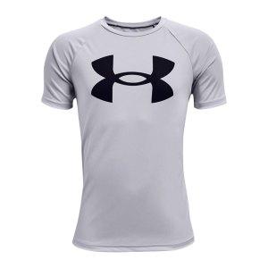 under-armour-tech-big-logo-t-shirt-kids-grau-f011-1363283-fussballtextilien_front.png