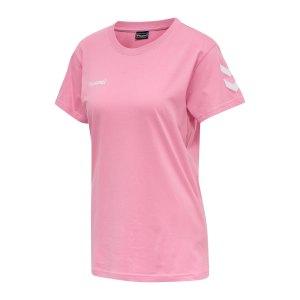 hummel-cotton-t-shirt-damen-rosa-f3257-203440-teamsport_front.png