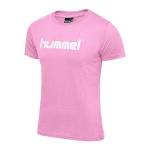 hummel-cotton-t-shirt-logo-damen-rosa-f3257-203518-teamsport_front.png