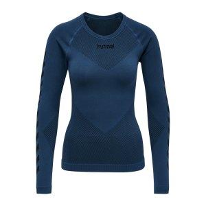 hummel-first-seamless-longsleeve-damen-blau-f7642-202645-teamsport_front.png